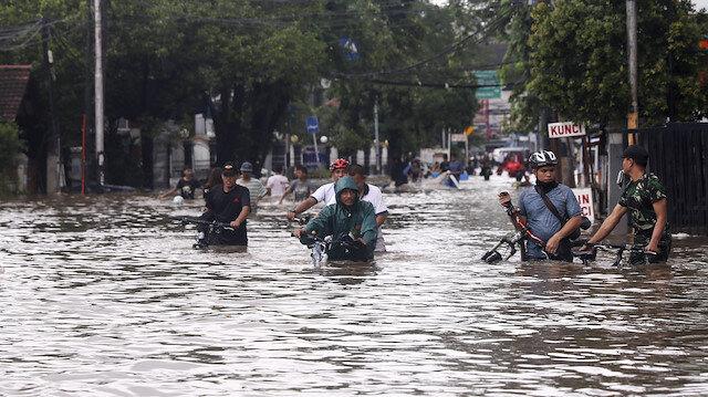 File photo: Flood strikes Indonesia's capital Jakarta