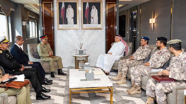 الدوحة.. مباحثات عسكرية بين قطر وباكستان