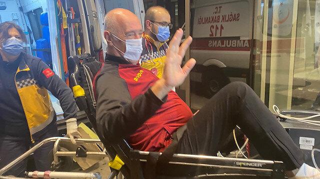 Ambulans uçakla Türkiye'ye getirilen Nedim Özbey: Devletin nefesini hissetmek çok farklı bir duygu