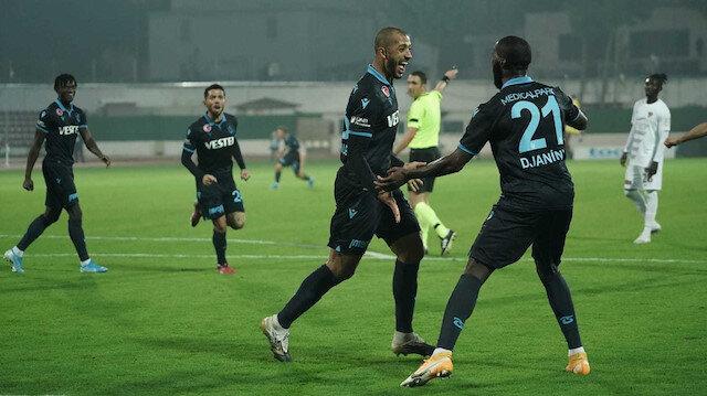 Trabzonspor 3 puanı Vitor Hugo ile aldı