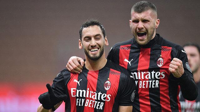 Milan-Lazio maçına Hakan Çalhanoğlu damga vurdu: Hem attı hem attırdı