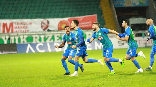 Rizespor evinde Antalyaspor'a geçit vermedi