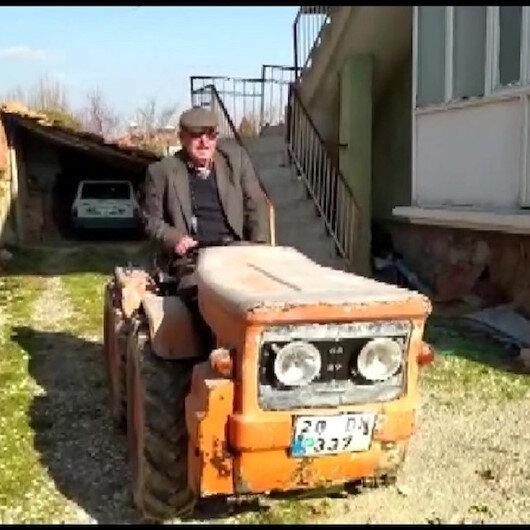 Köyden çıkmayan traktöre, İstanbul'dan trafik cezası: İki yıldır uğraşıyorum