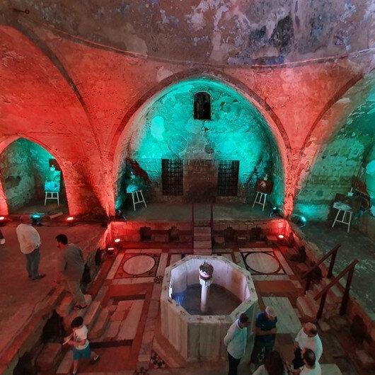 """""""الحمام الجديد"""".. صرح عثماني يعود للحياة من جديد في لبنان"""