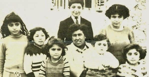 Ahmet Süleyman Aşır ve ailesi.