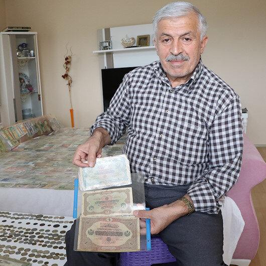 """التركي """"هوناز"""".. شغف لا ينتهي بجمع العملات وقطع النقود"""