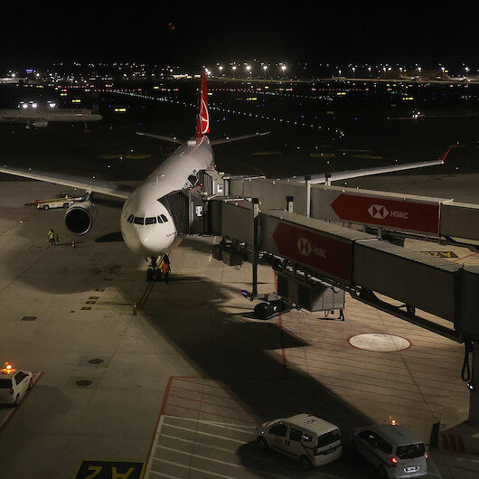 Turkish Airlines conducts evacuation flight from UK