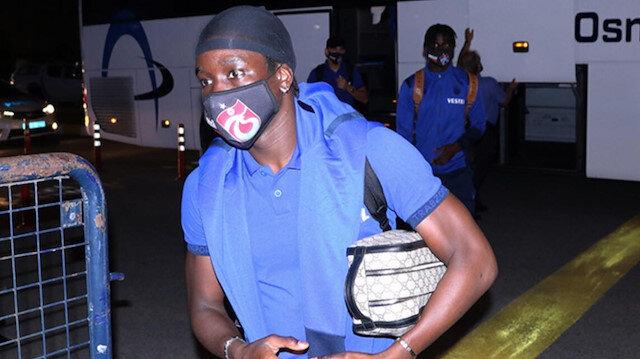 Trabzonspor'da flaş gelişme: Fransa'ya gitti