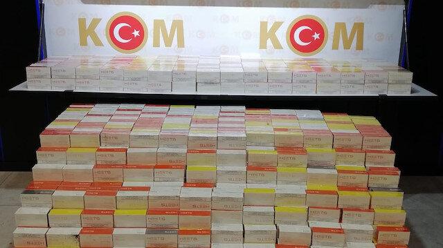 Over 28,000 packs of smuggled vapes seized in Turkey