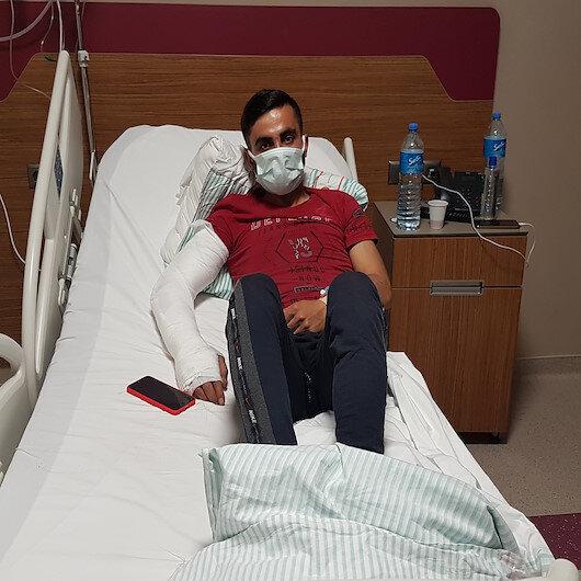 Elazığ'daki 5,3'lük depremde pencereden atlayan genç: Gözümü açtığımda hastanedeydim