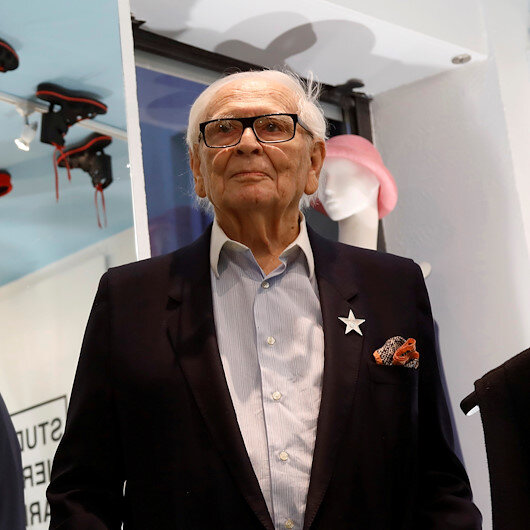 French fashion giant Pierre Cardin dies at age 98