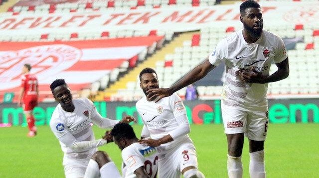 Ersun Yanal'ın çalıştırdığı Antalyaspor'da büyük hezimet: Hatayspor altı golle üç puanı aldı