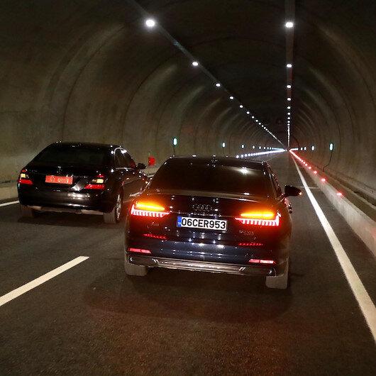 '70 yıllık rüya' tünel bugün hizmete açıldı