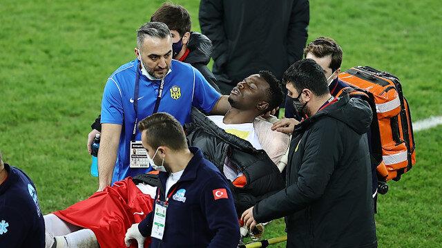 Ndayishimiye Ankaragücü maç sonunda rahatsızlık geçirdi