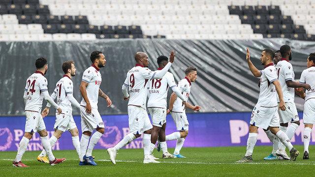Vodafone Park'ta kazanan Trabzonspor