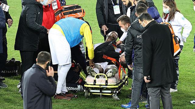Maç sonu fenalaşmıştı, sağlık durumuyla ilgili açıklama geldi
