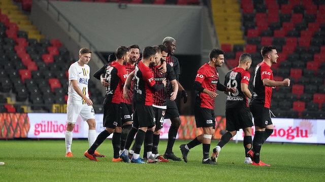 Süper Lig'in yeni lideri Gaziantep FK