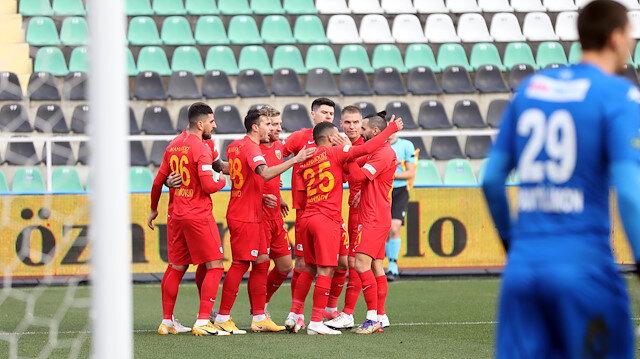 Denizli'de kazanan Kayserispor