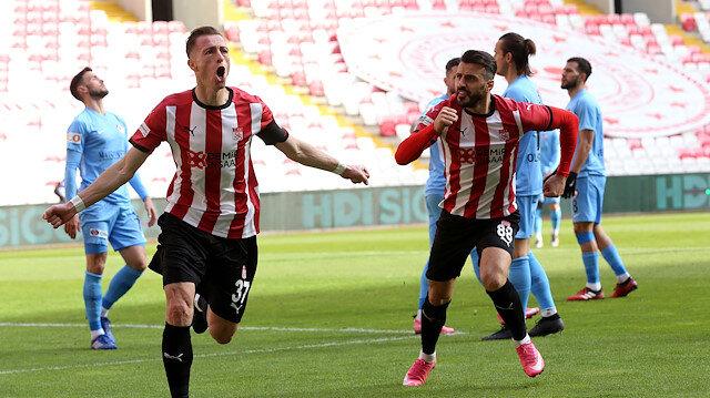 Gaziantep FK'nın serisini Sivasspor bitirdi