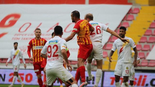 Kayserispor, Yeni Malatyaspor'u eli boş gönderdi