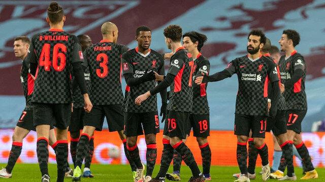 Korona gölgesinde oynanan maçı Liverpool kazandı