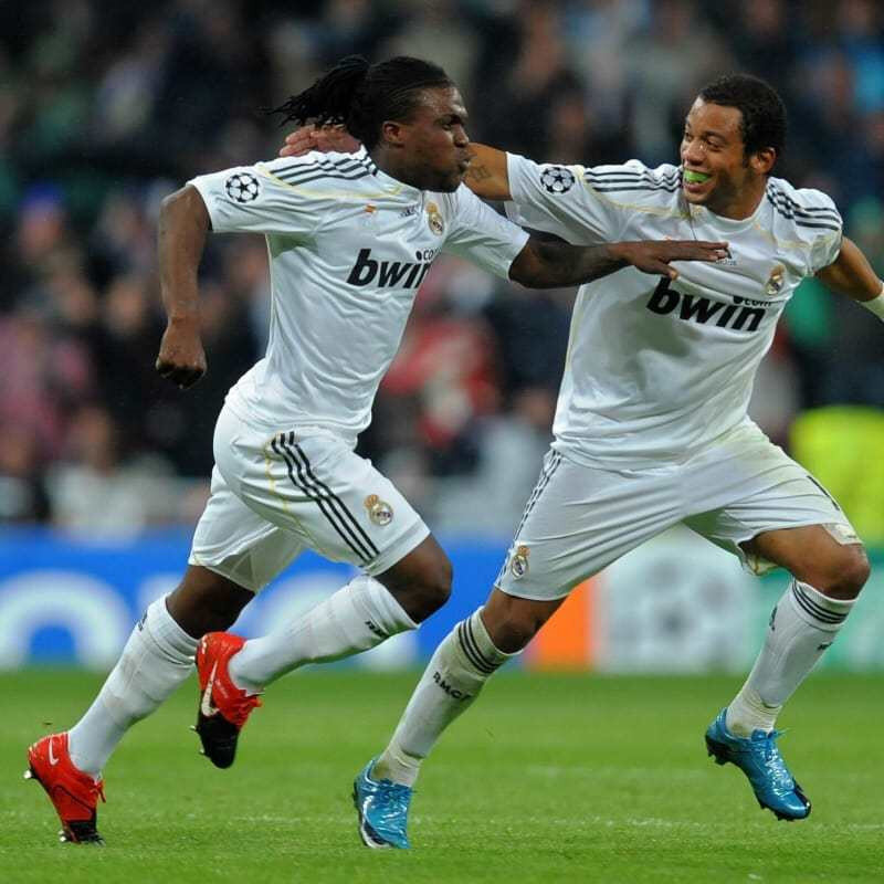 Real Madrid formasıyla 65 maça çıkan Drenthe, 4 gol atarken 5 de asist yaptı.