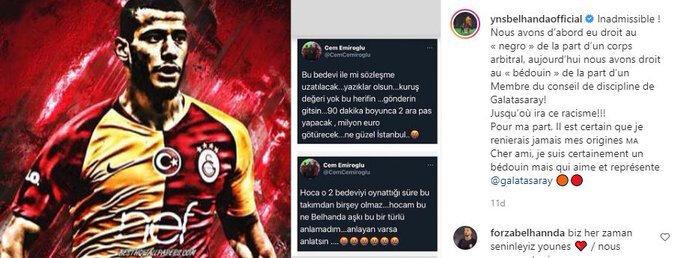Belhanda'nın Cem Emiroğlu'na tepkisi