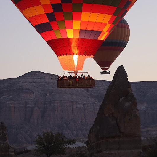 Over 120,000 visitors enjoy bird's-eye view of Turkey's Cappadocia