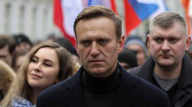 Opposition politician Alexei Navalny