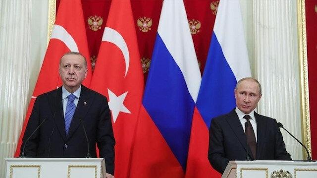 أردوغان وبوتين يبحثان مخرجات القمة الروسية الأذربيجانية الأرمينية