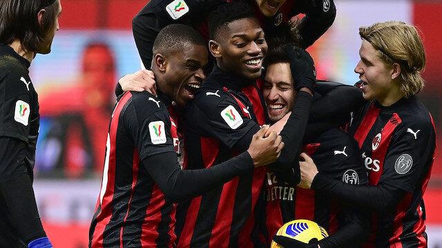 Hakan attı <br>Milan kazandı