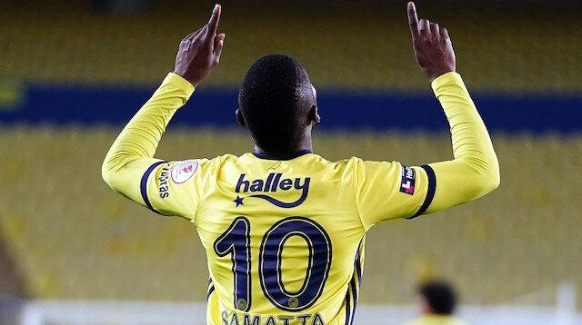 Samatta attı <br>Fenerbahçe turladı