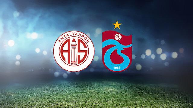 Antalyaspor-Trabzonspor (CANLI)