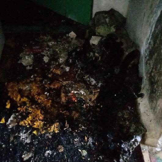 Benzinle sobayı tutuşturmak isteyince ev yandı: 6 yaralı