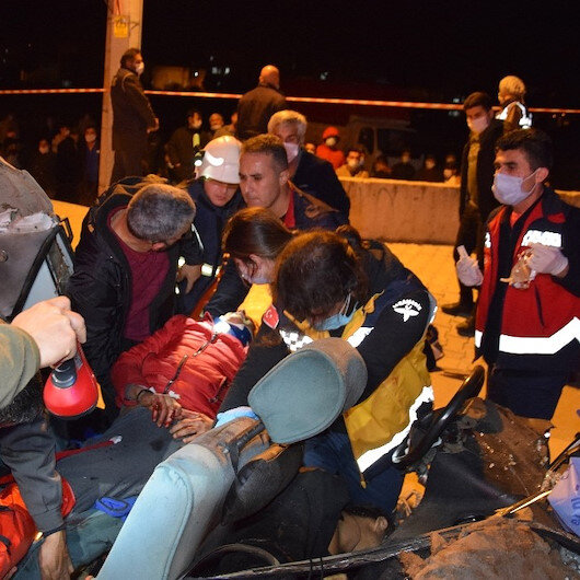 Antalya'da facia gibi kazada 3 kişi öldü 4 kişi de yaralandı