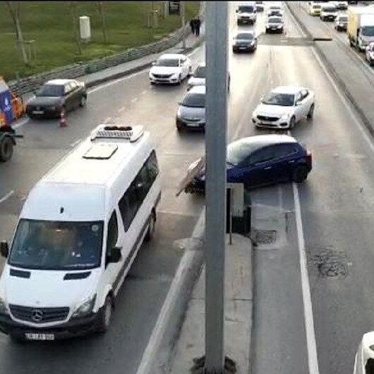 Trafikten kaçmak için kural tanımıyorlar
