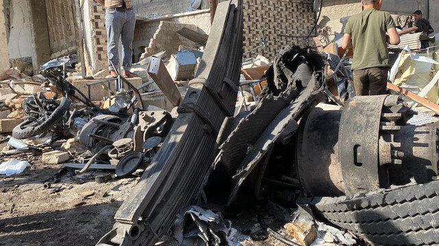 Blast kills one, wounds six others in NW Syria
