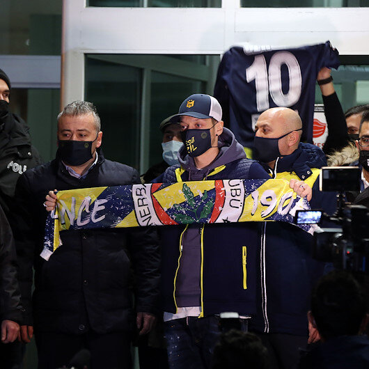 Mesut Ozil likely to wear No. 67 jersey for Fenerbahce