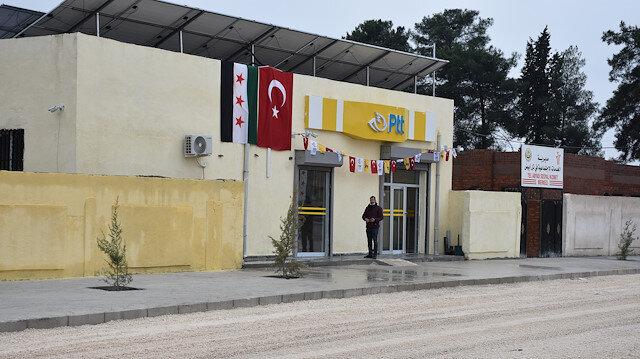 """""""البريد التركية"""" تفتتح فرعا في """"تل أبيض"""" السورية"""