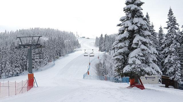 """تركيا.. جبل """"إلغاز"""" يفتح أبوابه الخميس لعشاق التزلج"""