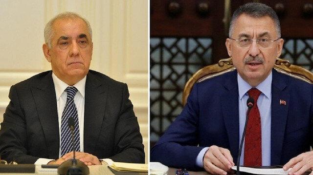 أوقطاي وأسادوف يبحثان تعزيز العلاقات التركية الأذربيجانية