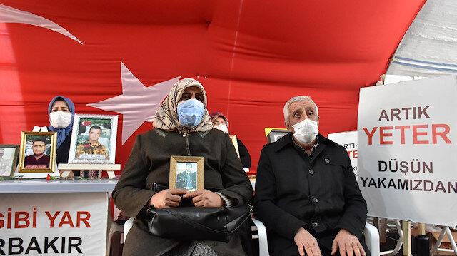 """أسرة جديدة تنضم إلى اعتصام """"أمهات ديار بكر"""" ضد """"بي كا كا"""""""