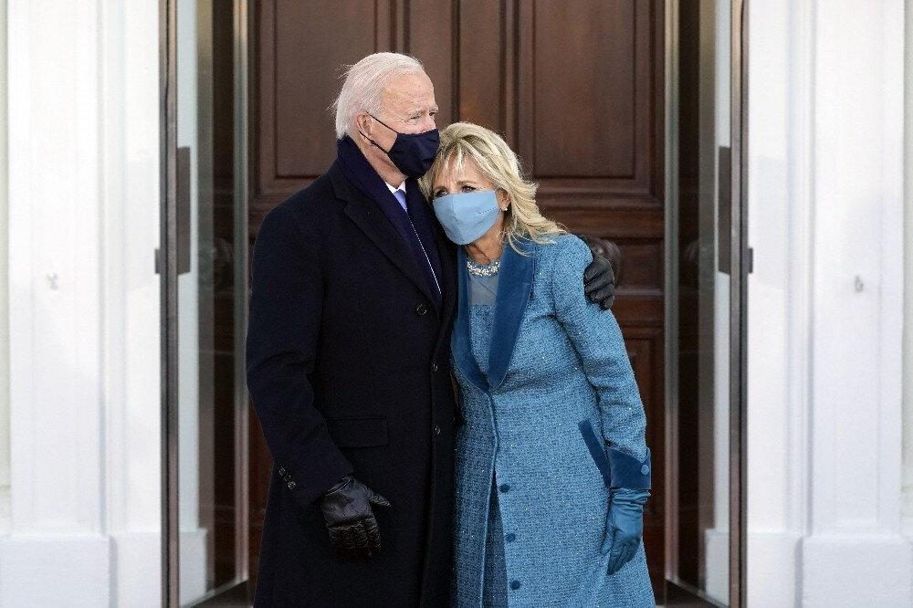 Joe Biden ve eşi Jill Biden.