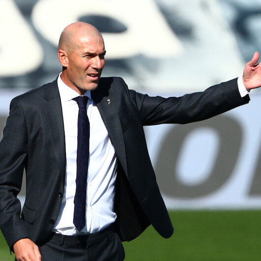 Real Madrid head coach Zidane tests positive for virus
