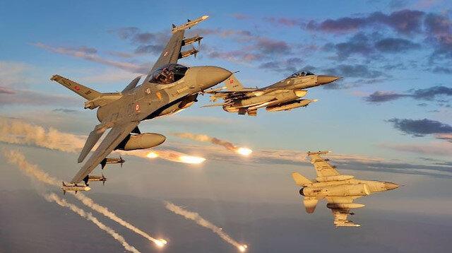 Turkish jets neutralize 4 PKK terrorists in N.Iraq