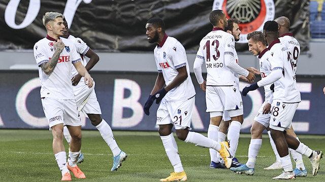 Ankara'da kazanan Trabzonspor