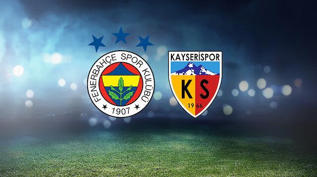 Fenerbahçe-Kayserispor (CANLI)