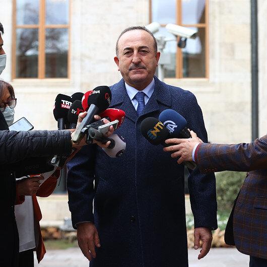 """تشاووش أوغلو ونظيره الأذربيجاني ينسقان بشأن سفينة """"موزارت"""""""