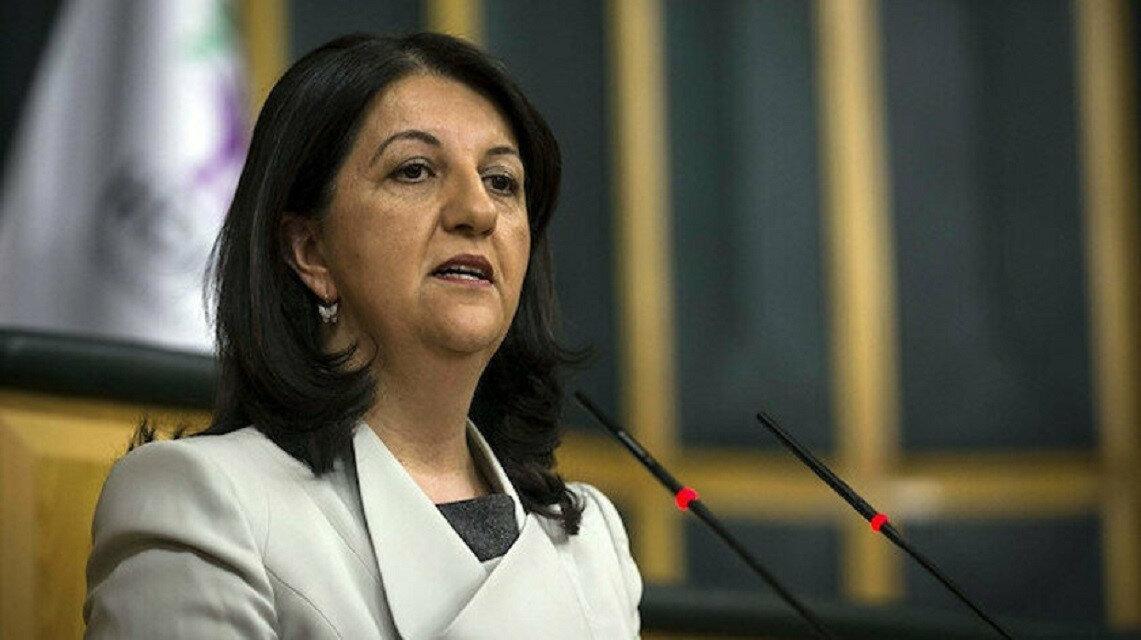 الرئيسة المشاركة لحزب الشعوب الديمقراطي المعارض، بيرفين بولدان