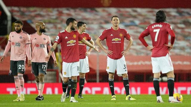 Manchester United lig sonuncusuna mağlup oldu
